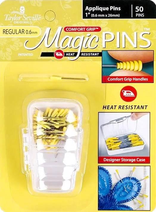 Taylor Seville - Magic Pins - Applique - REGULAR - 50 stuks