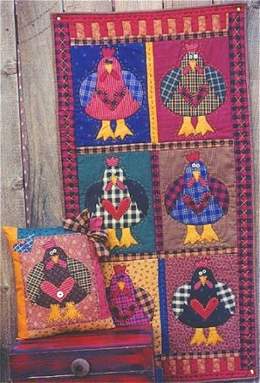 Meme's Quilts - 'Chicken Heart'