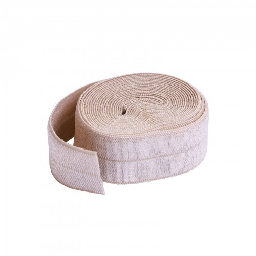 Fold over elastic - 2 yard - Natural