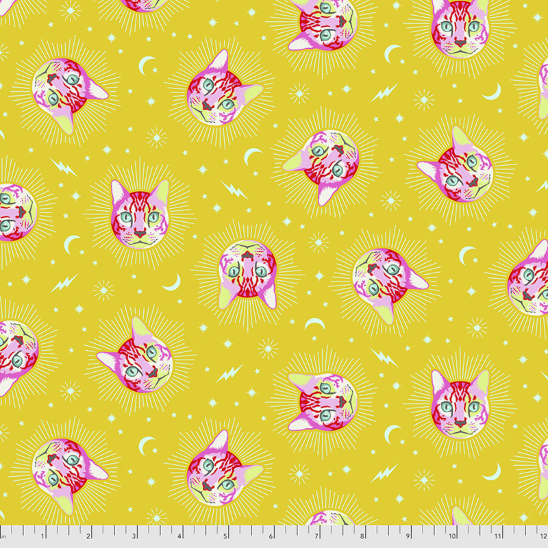 Tula Pink - Curiouser & Curiouser - Cheshire - PWTP164.WONDER