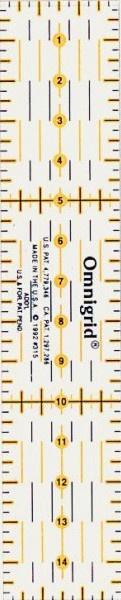 Prym Omnigrid Liniaal - 3 x 15 cm