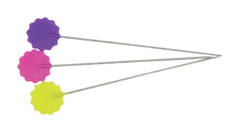 Flower Head Spelden Box - 100 stuks - 50 mm (Dritz)