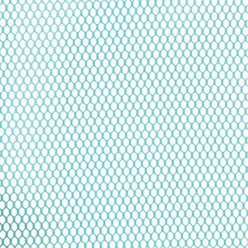 Mesh Fabric - 18 x 54 inch - Parrot Blue