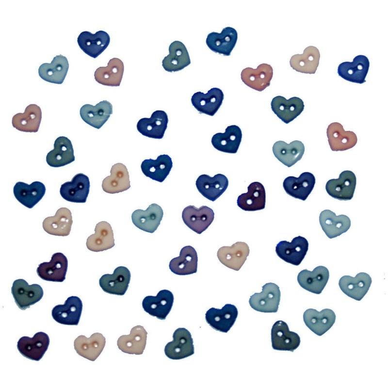 """Knoopjes """"Dress It Up"""" - Micro Mini Hearts Romance"""