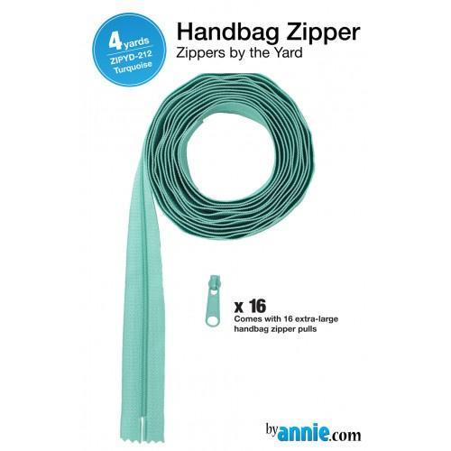 Zipper - 4 yards - Turquoise
