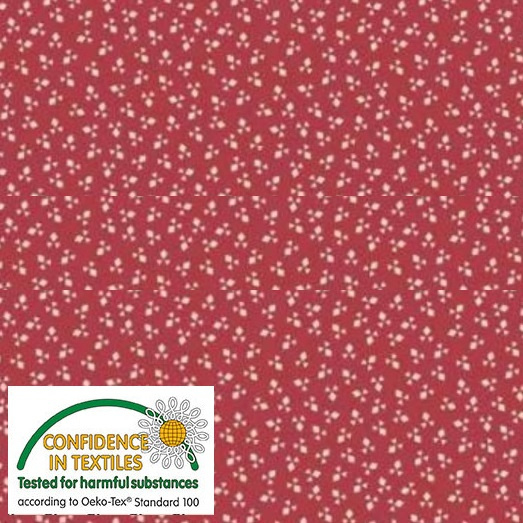 Nellies Shirtings - 4512-784 Red