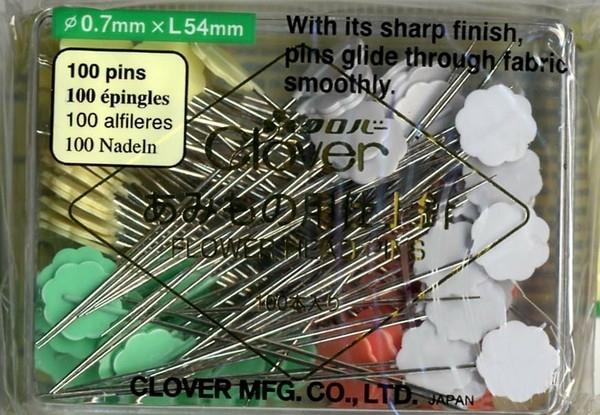 Flower Head Spelden Box - 100 stuks - 0,40 x 50 mm (Clover)