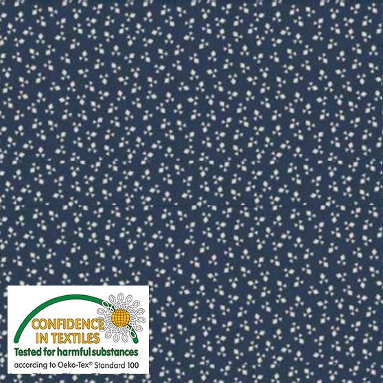 Nellies Shirtings - 4512-785 Blue