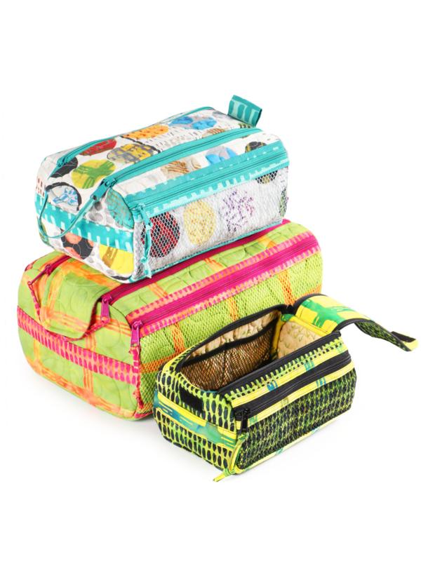 Patroon: 'Double Zipped Gear Bag 2.0' - by Annie - PBA257-2