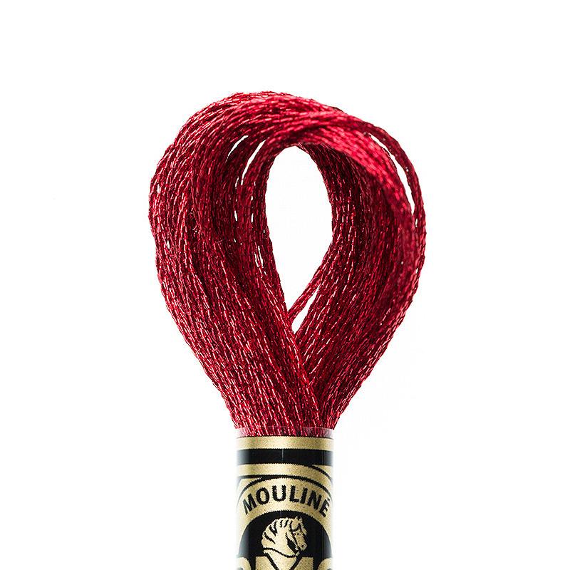 DMC borduurgaren Mouliné - Kleur: E321 - Ruby Red (Jewel)