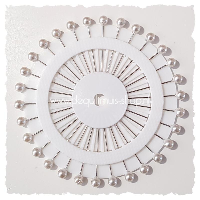 Parelkopspelden - 30 stuks - 6 x 6 x 46 mm
