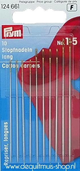 Stopnaalden Lang - Assortiment No.1 - 5  - Set van 10 stuks