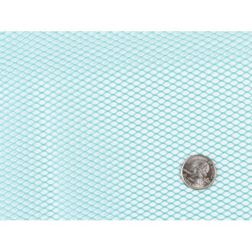 Mesh Fabric - 18 x 54 inch - Turquoise