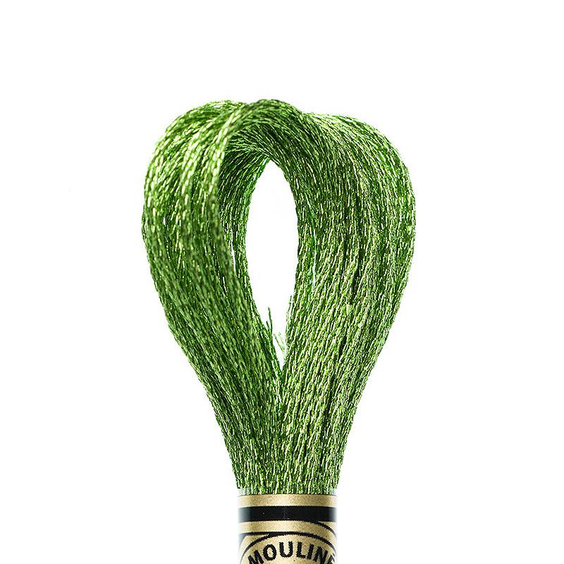 DMC borduurgaren Mouliné - Kleur: E703 - Light Emerald (Jewel)