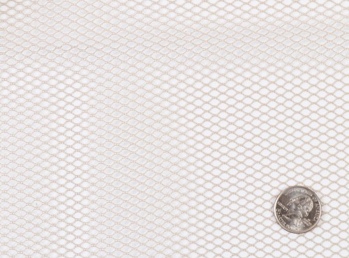 Mesh Fabric - 18 x 54 inch - White