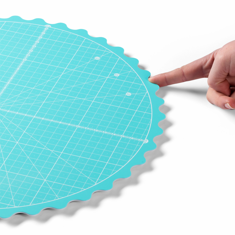 Snijmat Draaibaar - Rotating Cutting Mat - Rond 35 cm - Prym Love 611.469