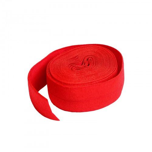 Fold over elastic - 2 yard - Atom Red
