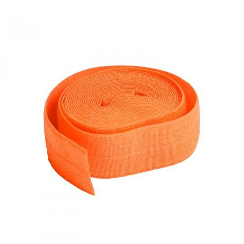 Fold over elastic - 2 yard - Pumpkin