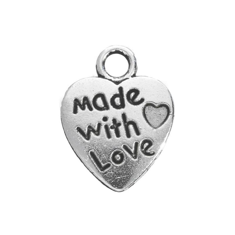 Bedel Hartje - Made With Love - €0,20 per stuk