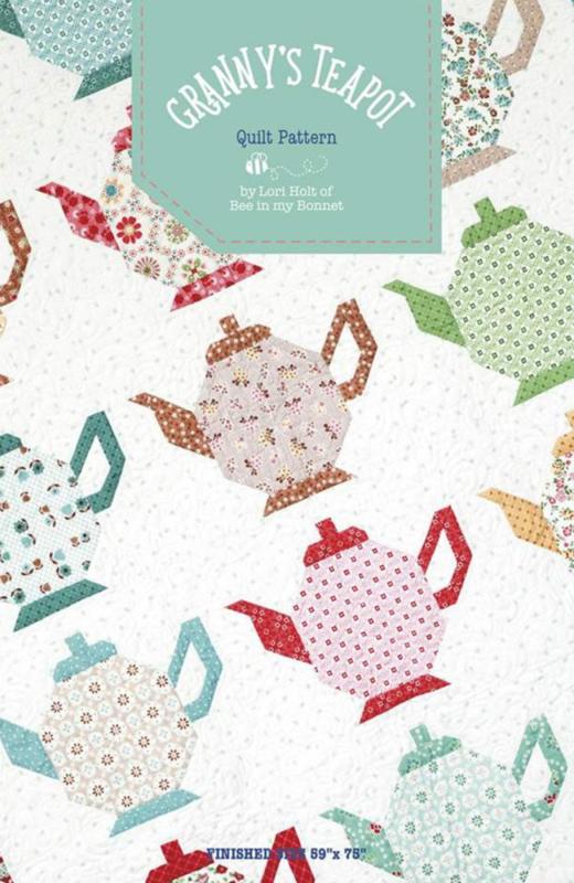 Patroon: 'Granny's Teapot' by Lori Holt