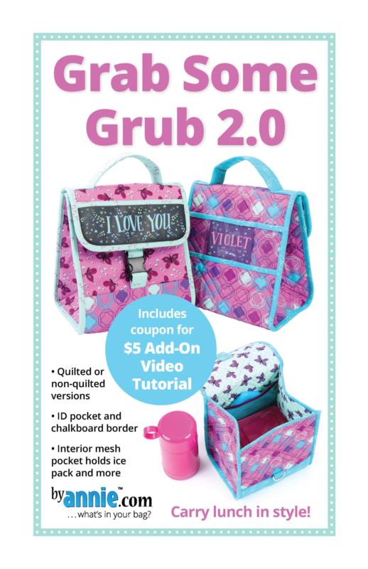 Patroon: 'Grab Some Grub 2.0' - by Annie - PBA235-2