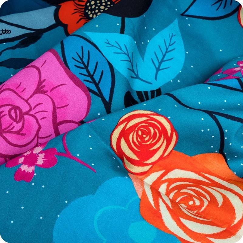 "PANEL:  'MAGIC UNICORN PANEL' by Sarah Watts - 108"" wide"
