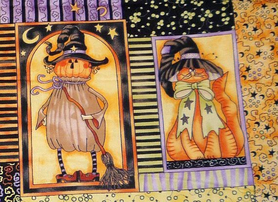 PANEL:  'Broom Sweepers' by Diane Knott