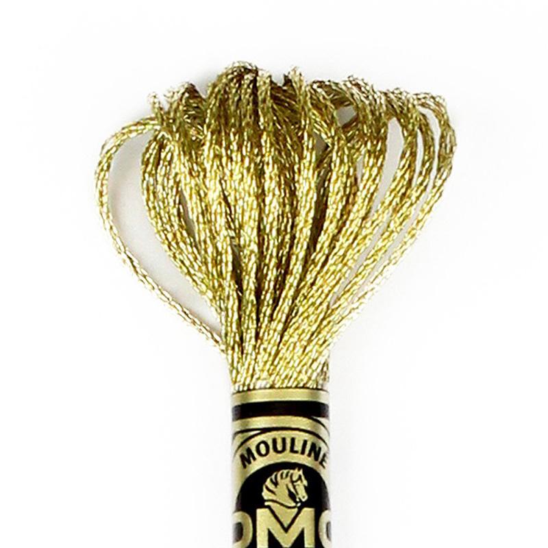 DMC borduurgaren Mouliné - Kleur: E3821 - Light Gold (Metallic)