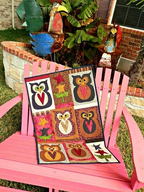 Meme's Quilts - 'Whoo Loves You Baby'