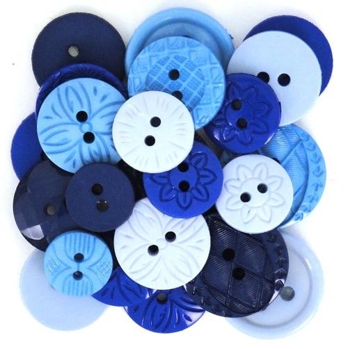 """Knoopjes """"Dress It Up"""" - Color Me Blue"""