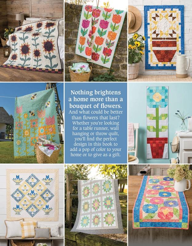 Patroonboek: 'Pieced Flower Quilts' by Annie's Quilting