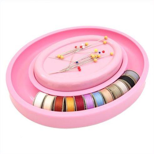 Sew Mate - Magnetische speldenhouder voor Bobbin Saver Ring - Roze