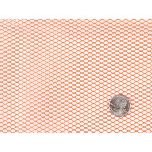 Mesh Fabric - 18 x 54 inch - Pumpkin