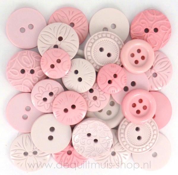 Knoopjes Color Me, Pink