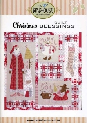 Christmas Blessings - Quilt Patroon (The Birdhouse)