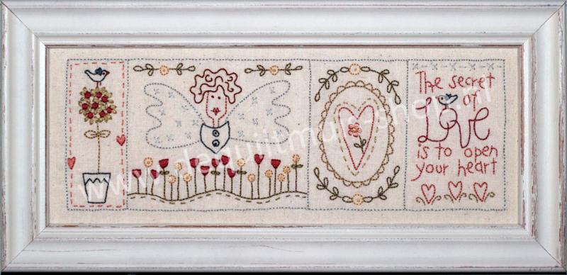 Stitchery - Secret of Love (The Birdhouse)
