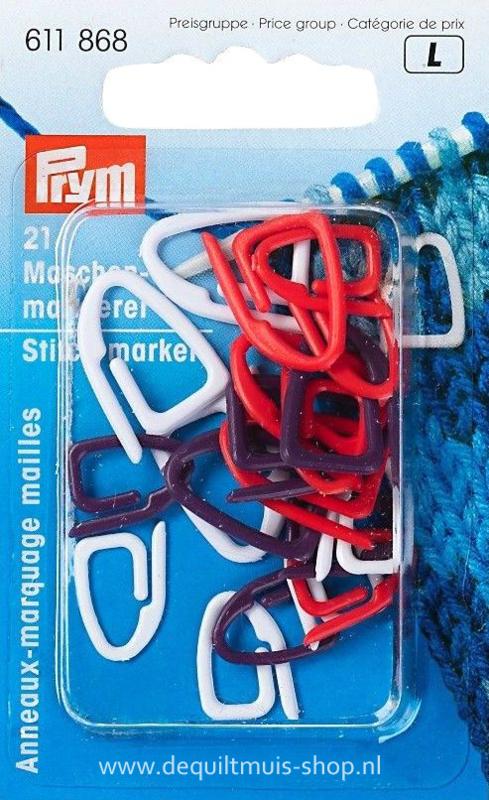 Steekmarkeerringen - 21 stuks - Prym 611.868