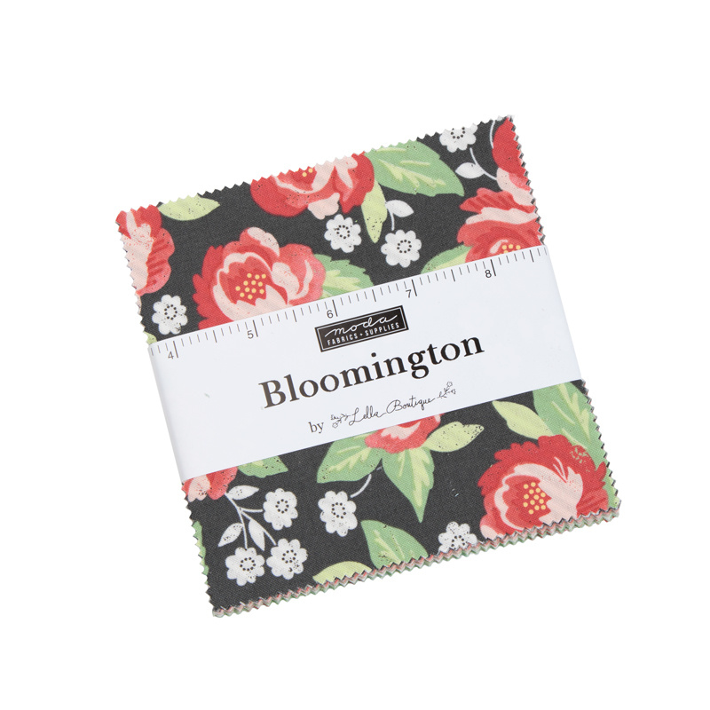 "Moda - 'Bloomington' by Lella Boutique - 5"" Charm Pack"