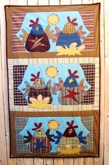 Meme's Quilts - 'Good Morning Chicks'