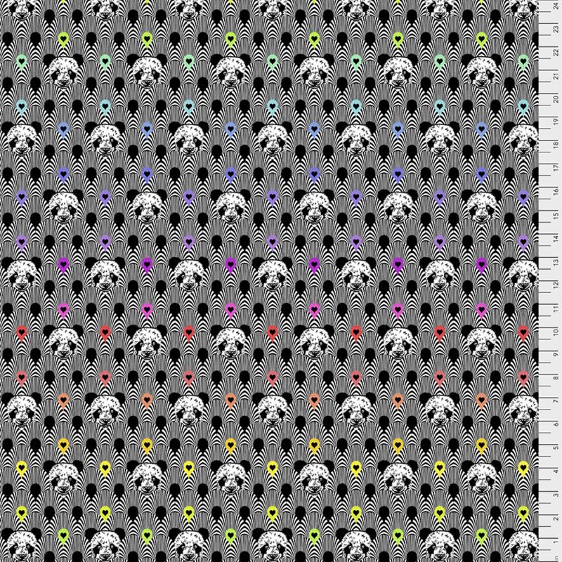 Tula Pink - LINEWORK - Pandamonium - Ink - PWTP153.INK