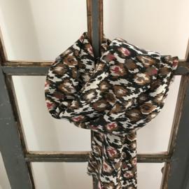 Sjaal Ikat print