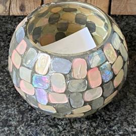Waxinelicht Mozaiek