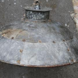 Lamp Industrieel Basic Zink