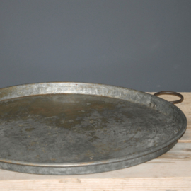 Old Iron Tray with ears