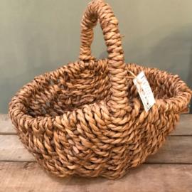 Mandje gevlochten touw
