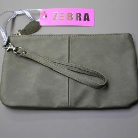 Zebra Natural Bag Yasmine Green