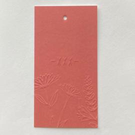 Label roze XXX