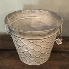 Pot/emmer zink honinggraad