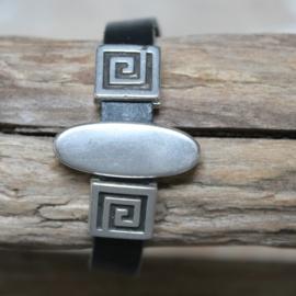 Armband ovale stoere slide
