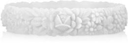 O bracelet wit maat S
